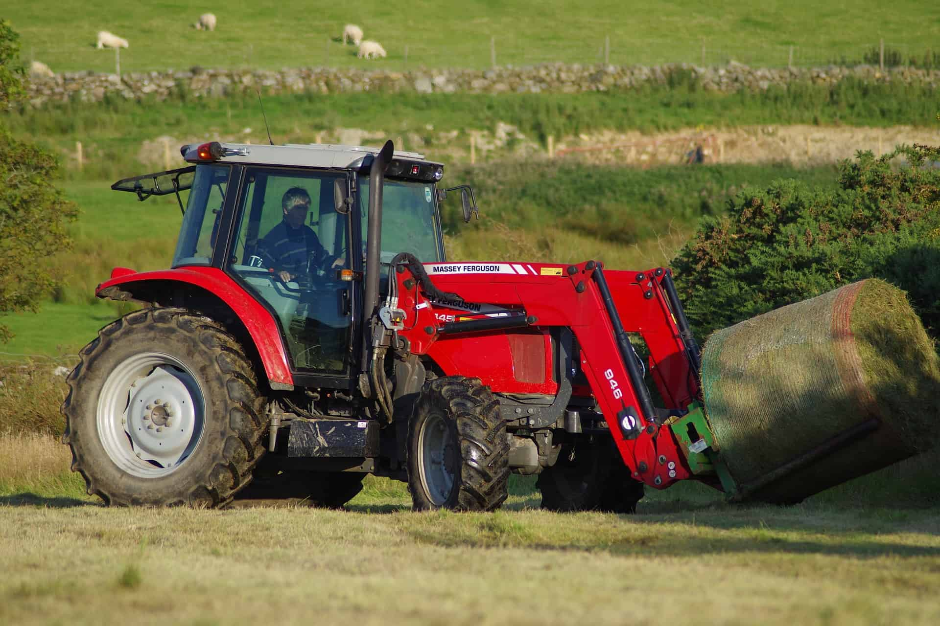 A Happy Massey Fergusson Tractor